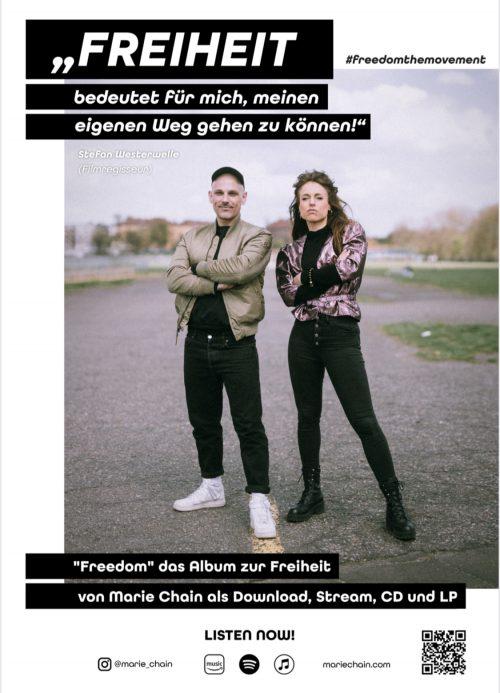 plakat #freedomthemovement stefan westerwelle