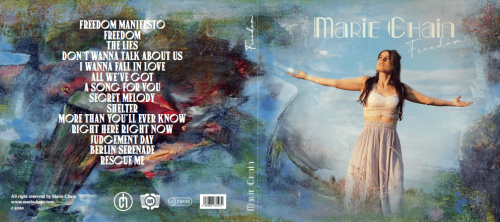 marie chain freedom album cover booklet